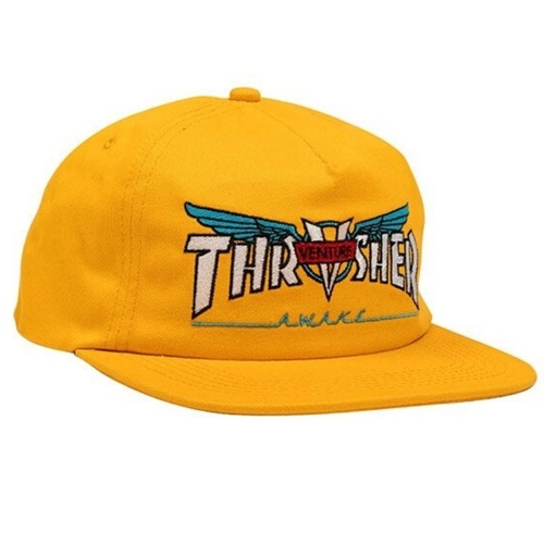 Thrasher x Venture Cap Yellow