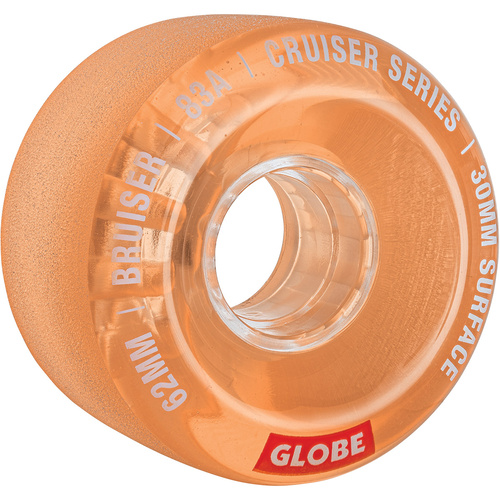 Globe Bruiser 62mm 83a Cruiser Wheels