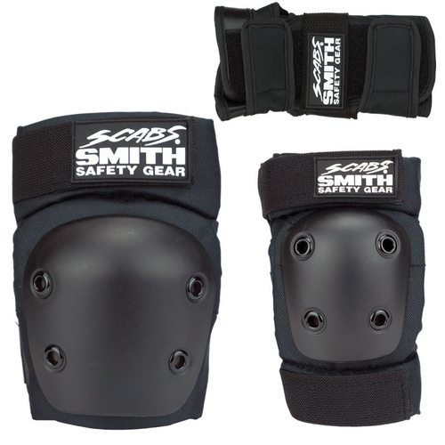 Smiths Scabs Protection Tri Pack Black
