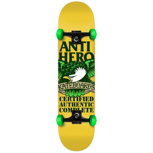 Antihero Recertified Eagle Complete Yellow 7.75