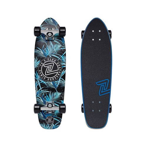 Z Flex Night Jungle Skateboard 27""