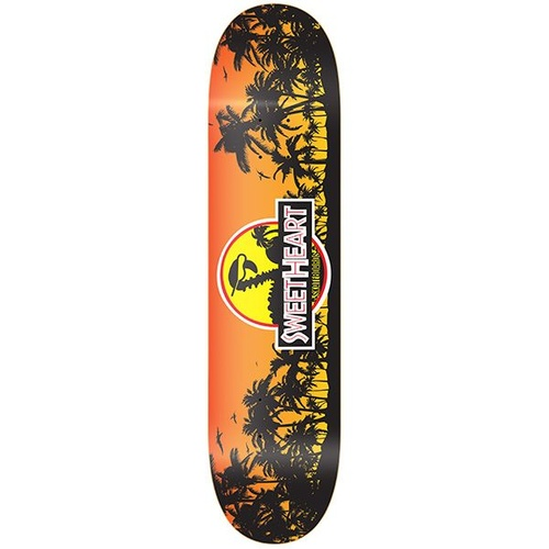 Sweetheart Skateboards Redline Jurassic Deck 7.75""
